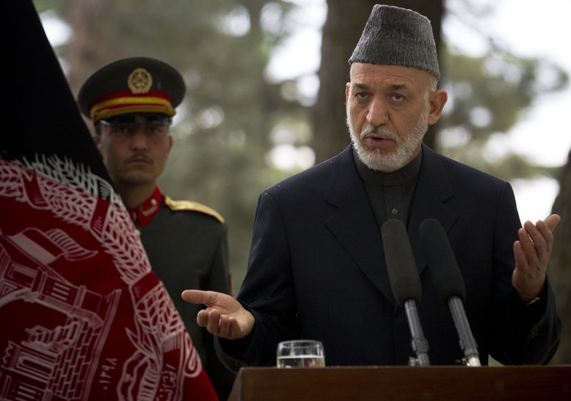 Afghan President Hamid Karzai says he was promised that the U.S. would no longer attack Afghan homes.