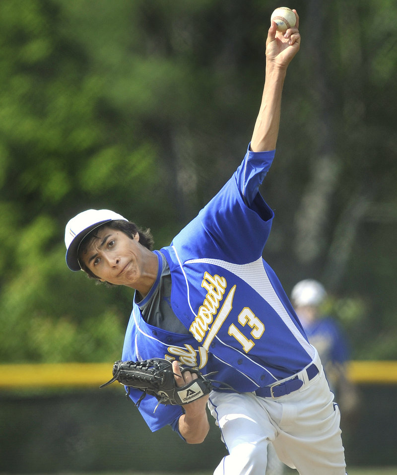 Thomas Fortier limited Morse to two hits and escaped a bases-loaded jam in the top of the sixth to help Falmouth advance to the Western Class B final against Cape Elizabeth. The Yachtsmen are seeking their first regional title since 1998, when they were in Class C.