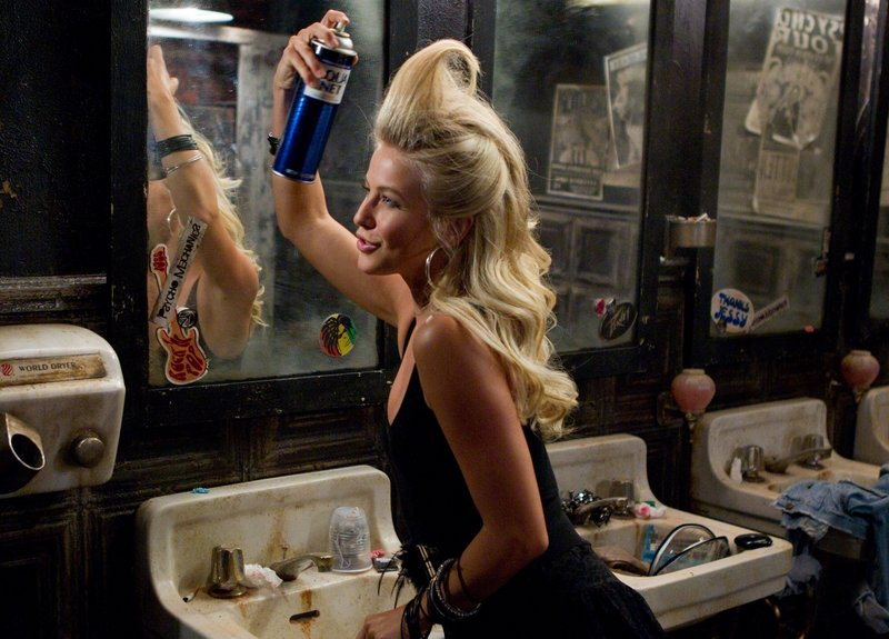 Julianne Hough is waitress and would-be rock goddess Sherrie Christian in