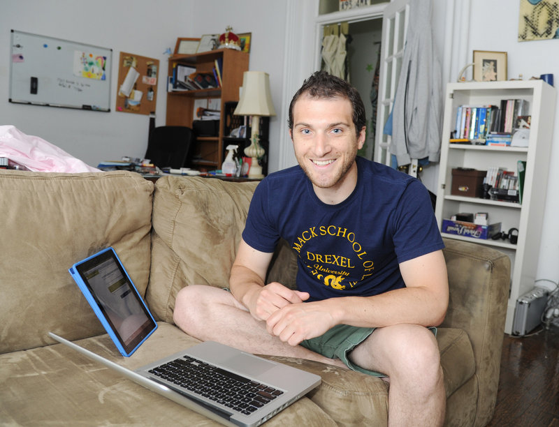 Tony Chiaramonte, 29, considers himself lucky to land a position as a law clerk for a Texas judge after graduating in May from Drexel University's law school. He sent out hundreds of job applications and got two return calls.