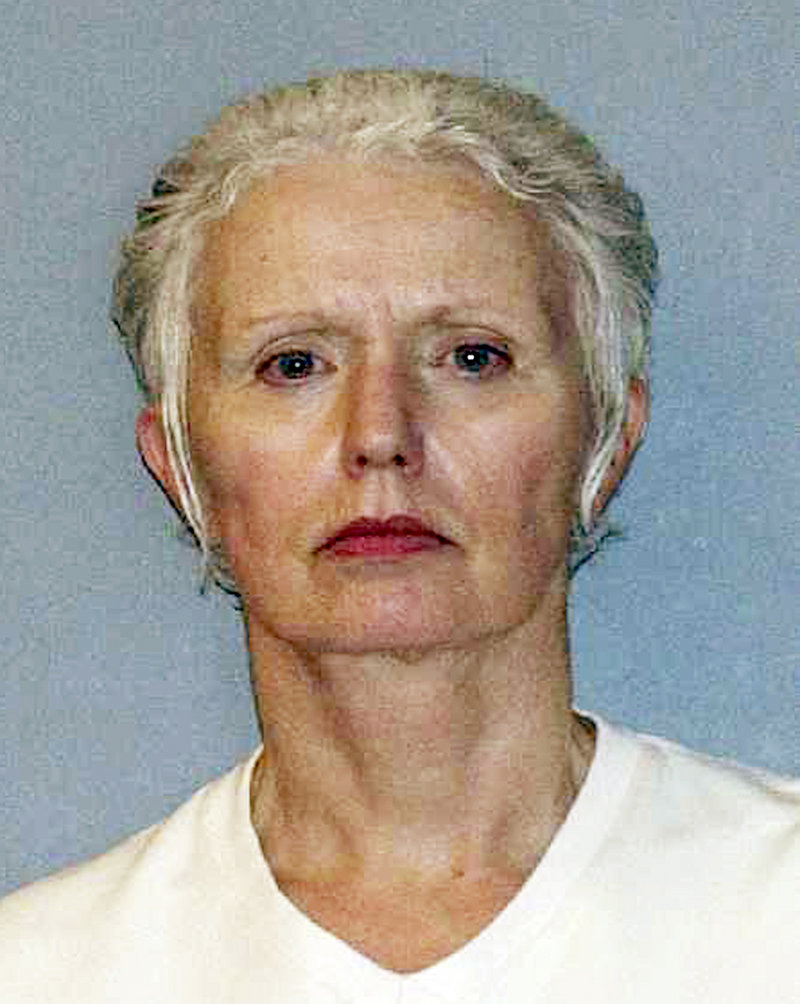 This undated file photo provided by the U.S. Marshals Service shows Catherine Greig, the longtime girlfriend of Whitey Bulger captured with Bulger June 22, 2011, in Santa Monica, Calif. Greig was sentenced to 8 years in prison on Tuesday, June12.