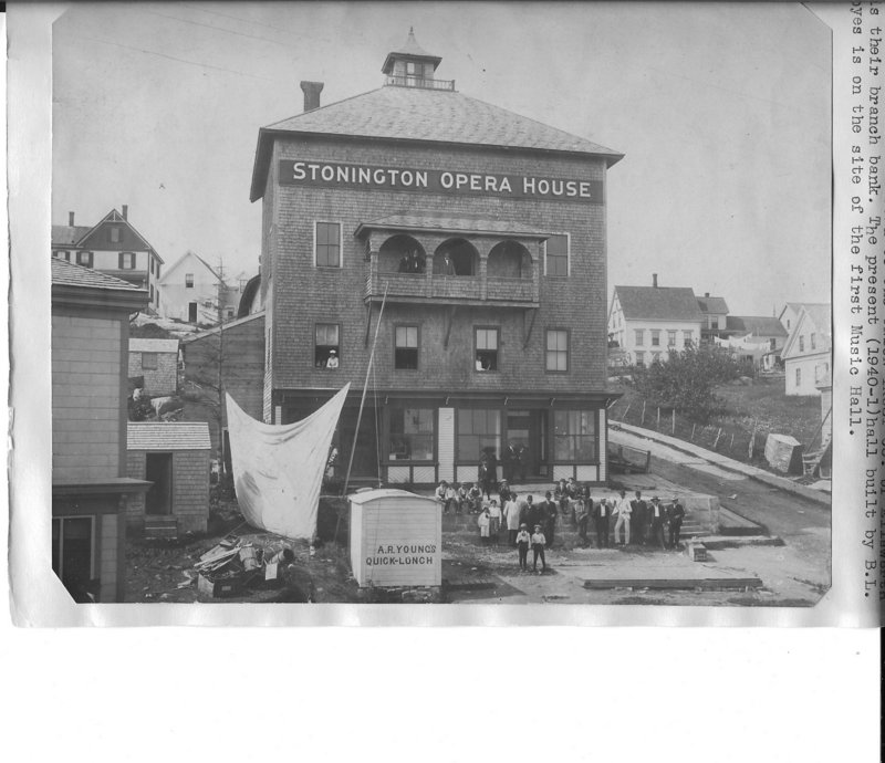 Archival photo of the opera house, date unknown.