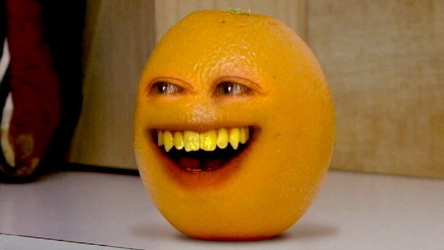 "The title character in ""Annoying Orange,"" which last week made the jump from the Web to series TV."