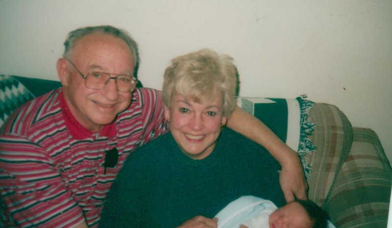 William and Mary Lou Freudenberger in a family photo. Mr. Freudenberger died June 6.