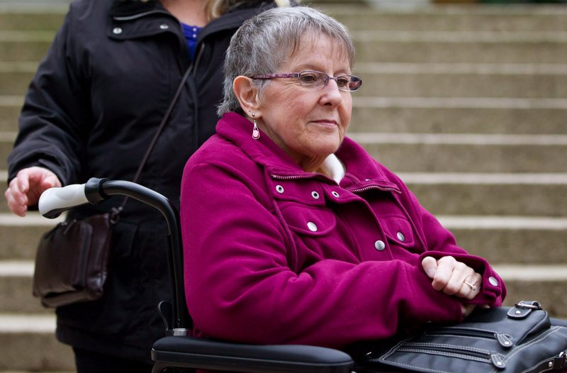 The British Columbia Supreme Court ruling allows Gloria Taylor, 64, to seek a physician-assisted suicide during the one-year suspension if she wants. Taylor has Lou Gehrig's disease, also known as amyotrophic lateral sclerosis or ALS.