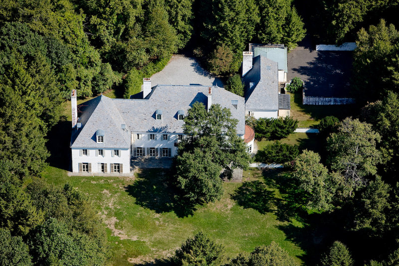 Photo provided in 2010 shows Huguette Clark's estate in New Canaan, Conn., which had not been lived in for more than 20 years at the time of Clark's death last year at age 104. The heiress also owned the largest residence on Fifth Avenue and a mansion in California.
