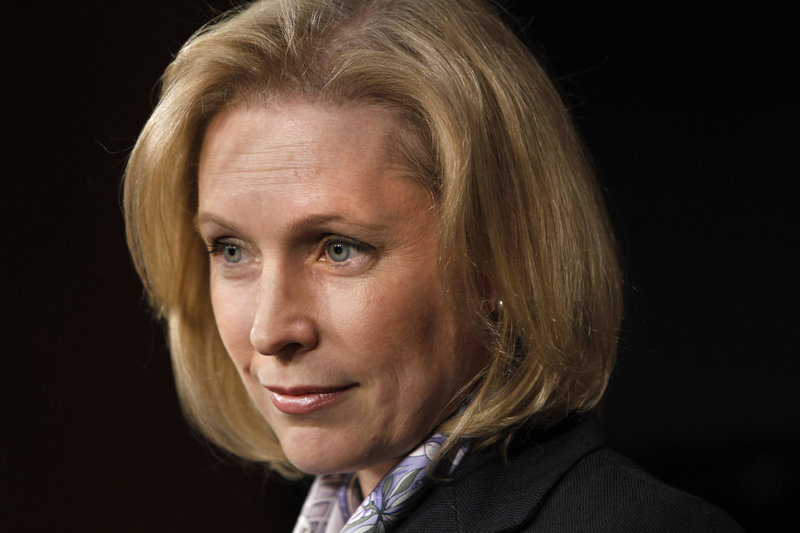 Sen. Kirsten Gillibrand, D-N.Y., is leading Democratic resistance to a proposal by Agriculture Committee leaders in both parties to trim $250 million from SNAP each year by cracking down on abuses.