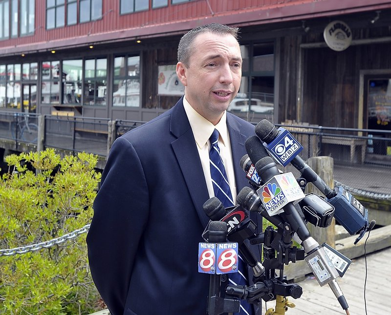 """""""Anybody in law enforcement will tell you substance abuse issues drive crime statistics. While cocaine is still the major drug problem in southern Maine, prescription drugs just really blew through the entire state and are causing major, major problems for entire counties of folks,"""" said Michael Sauschuck, Portland police chief, shown here in May."""