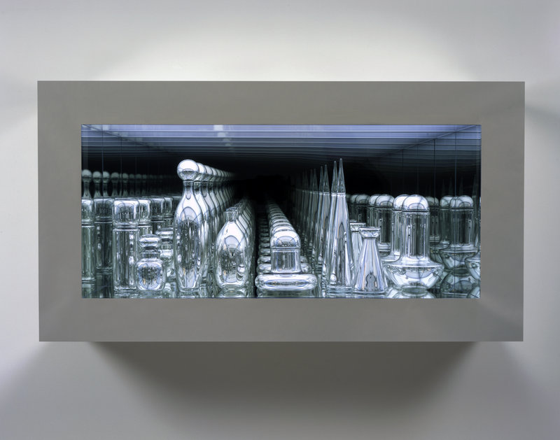"""Czech Modernism Mirrored and Reflected Infinitely,"" 2005."