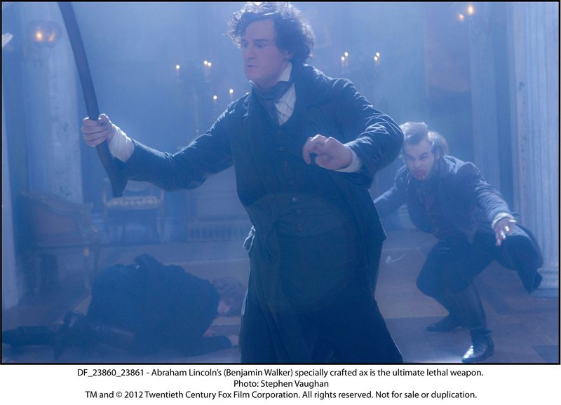 Benjamin Walker as the ax-swinging, vampire-slaying Abraham Lincoln.