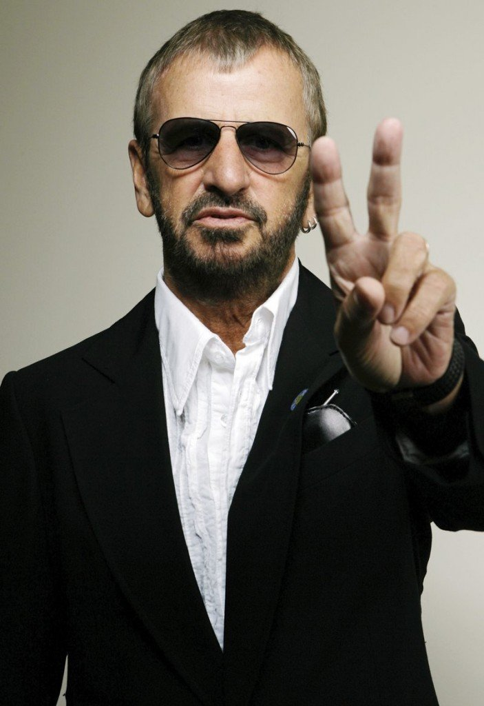 Ringo Starr is shown in Beverly Hills, Calif., on Tuesday.