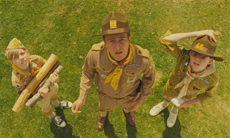 "Edward Norton is Scoutmaster Ward in ""Moonrise Kingdom,"" directed by Wes Anderson."