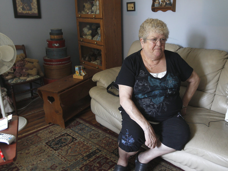 Karen Klein of Greece, N.Y., wants the four boys accused of taunting her to be left alone. The school district is investigating the incident.