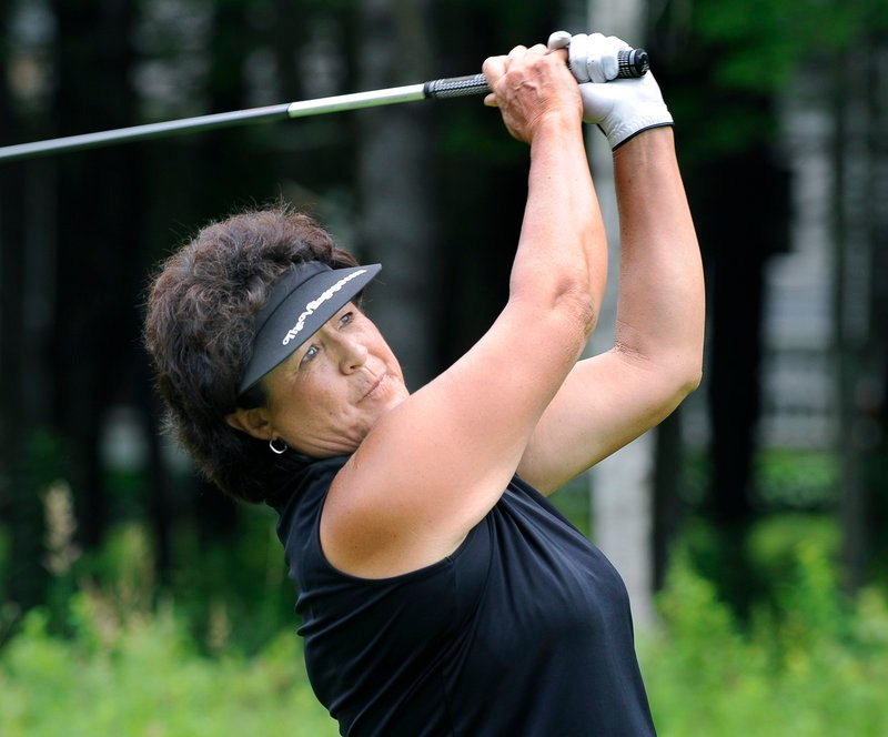 Nancy Lopez, one of the most well-known golfers in the 40-player field, shot rounds of 83 and 82.
