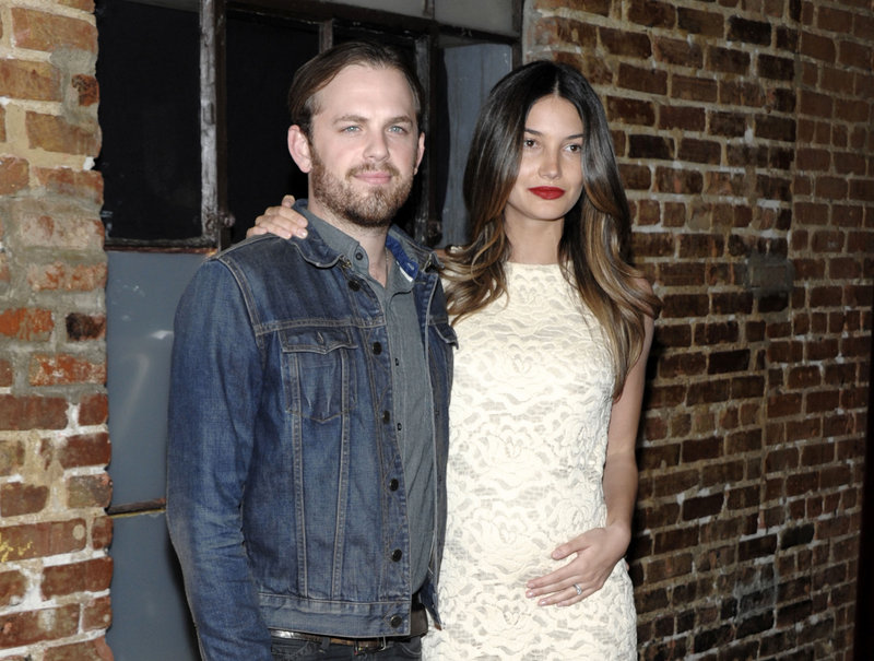 Kings of Leon frontman Caleb Followill and his wife, Victoria's Secret model Lily Aldridge, are new parents.