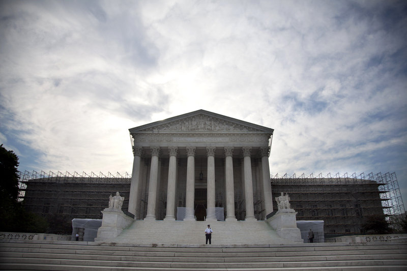 The Supreme Court turned away a plea Monday to revisit a decision that freed corporations and labor unions to spend unlimited amounts in federal elections.