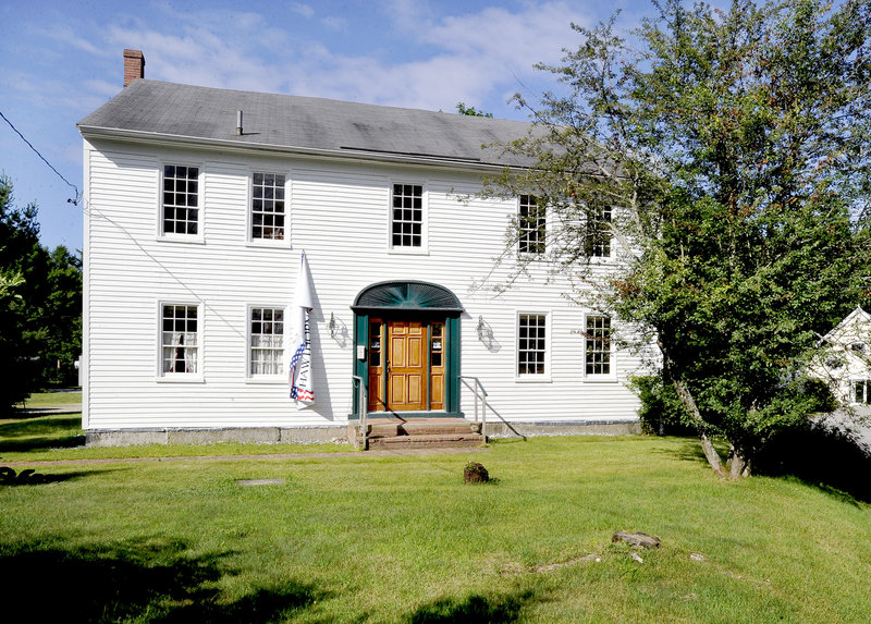 "Nathaniel Hawthorne, his mother and sisters moved to this house in Raymond around 1812. Later, Hawthorne wrote his sister, ""I have preferred and still prefer Raymond to Salem, through every change of fortune."""
