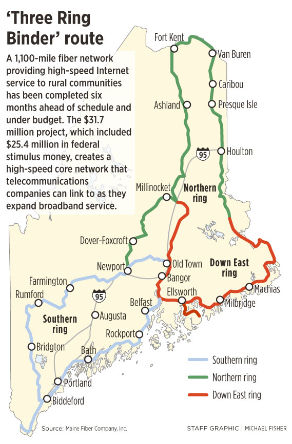 Maine S Internet Superhighway Is Ready Early Portland