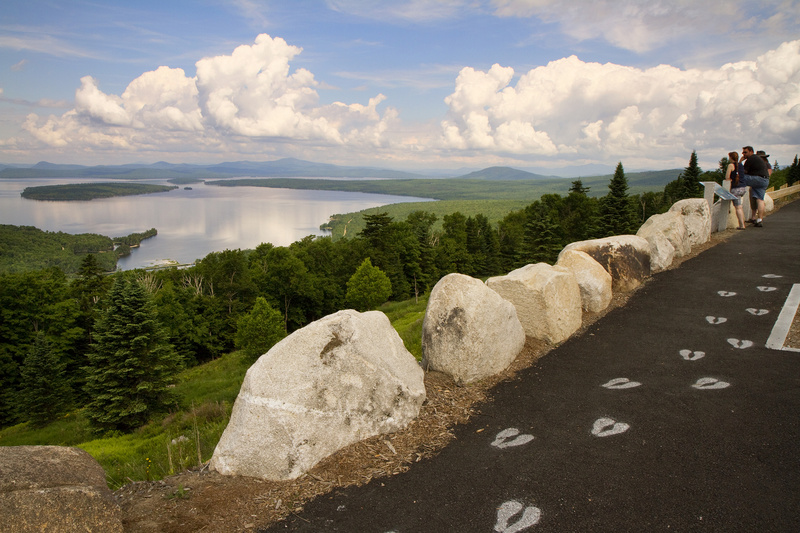 The Height of Land scenic overlook on Route 17 near Rangeley offers people a place to get out and enjoy the region's natural beauty. The Rangeley Lakes Heritage Trust has plans for a Phase II of this project, which is to include a conservation walk, and a tribute to conservation icons past and present.
