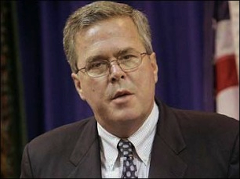 "Of his brother Jeb Bush, George W. Bush says ""he ought to run for president. He would make a great president."" The Associated Press"