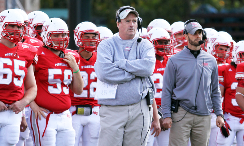 Paul Gorham, the South Portland native who coaches football at Sacred Heart University, is taking it one day at a time, and has to. It's the way he can recover from an illness that led to an amputation of both legs below the knees.