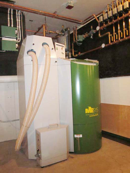 Maine Energy Systems currently sells its MESys AutoPellet System under license from OkoFEN.