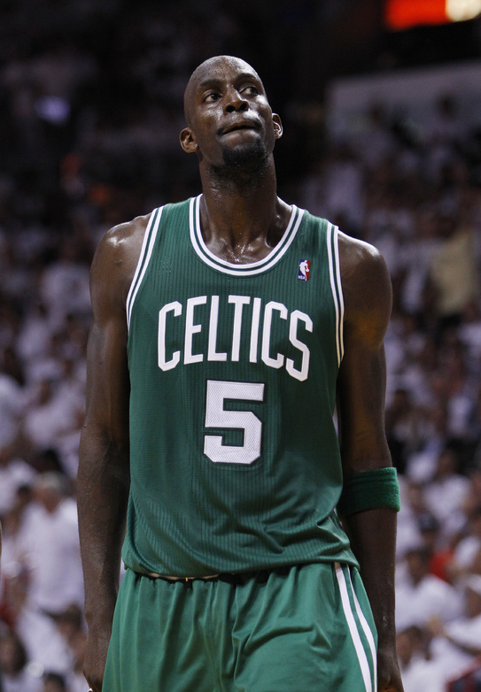 Kevin Garnett finished strong in the playoffs for the Celtics, who reached an agreement on a new deal with him.