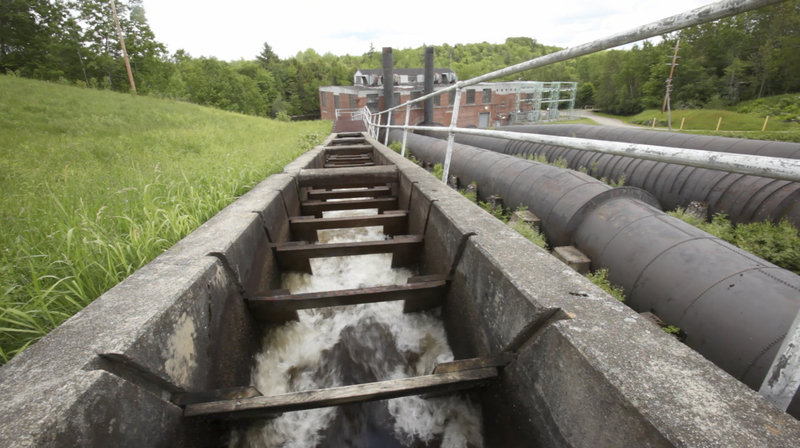 At the urging of bass anglers and other inland interests in the St. Croix River watershed, Maine lawmakers in 1995 closed the fishway at Grand Falls Dam so that alewives could no longer travel upstream to spawn.