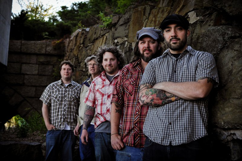 Greg Klein, Corey Ramsey, Riley Schyrock, Jim White and Nick Scala make up Dark Hollow Bottling Company, which just released its second full-length CD.