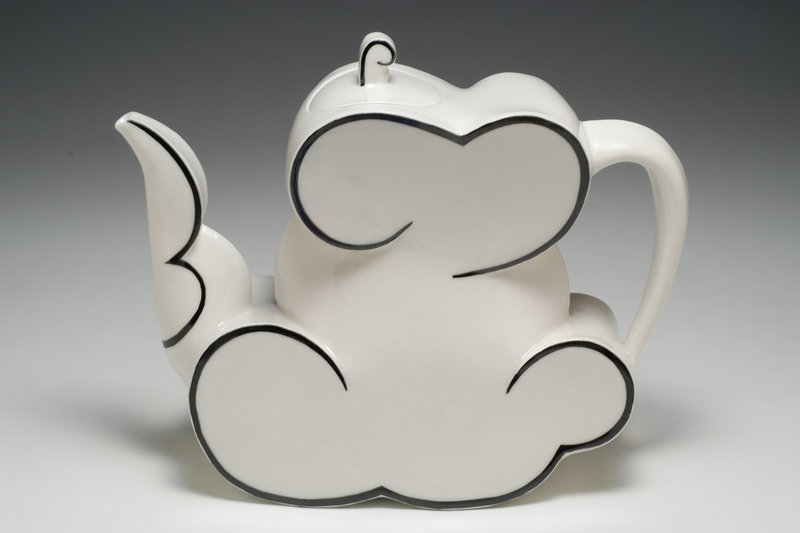 """""""Cloud Teapot"""" by """"Watershed Legend"""" Sam Chung."""
