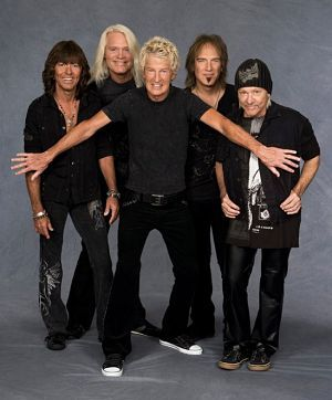 REO Speedwagon performs today with Styx and Ted Nugent at the Bangor Waterfront Pavilion.
