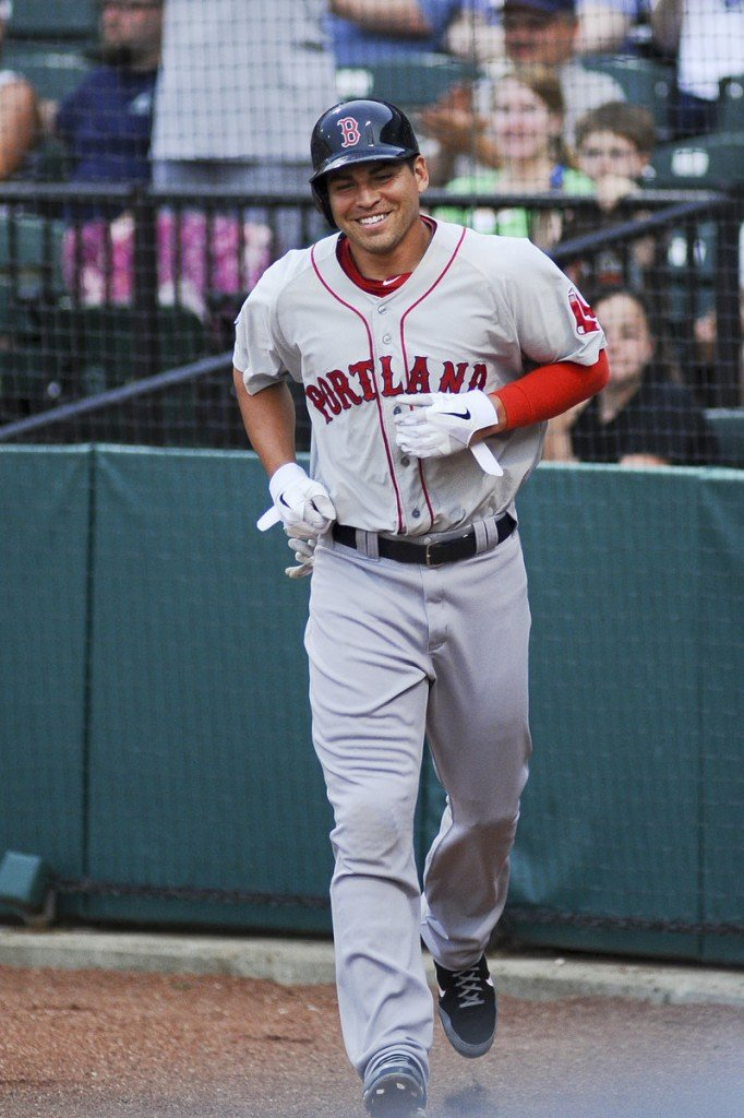 Jacoby Ellsbury was 1 for 4 Friday night with a double and a run scored in his second game for the Portland Sea Dogs this week while recovering from a shoulder injury.