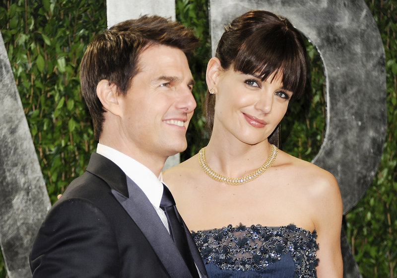 """The attorney for Tom Cruise, seen with Katie Holmes in February, said """"we can't say"""" whether the actor will seek joint custody of their daughter, Suri. Holmes is seeking sole custody of the 6-year-old, a move insiders say is designed to keep Suri away from Scientology."""