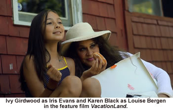 """Ivy Girdwood and Karen Black in """"VacationLand."""" The Maine-made film, directed by Jamie Hook, opens the festival on Friday and will be screened again on Saturday."""