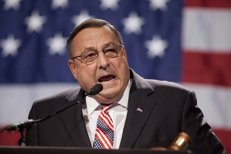 """In a radio address that compared the IRS to the Gestapo, """"Gov. LePage hit a new low in offensive rhetoric,"""" a reader says."""
