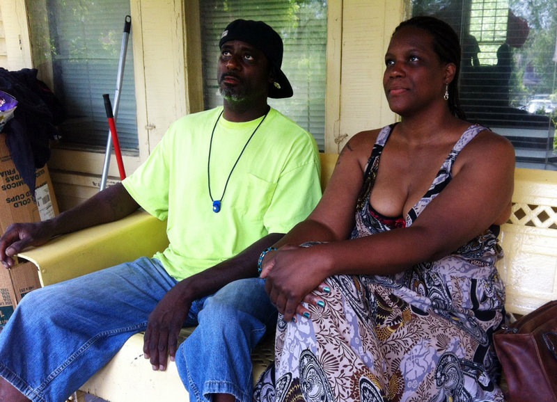 Eddie Miller and Yolanda McNair talk about their daughter, Adaisha Miller. Yolanda McNair said she would be watching the police investigation into her daughter's shooting closely.