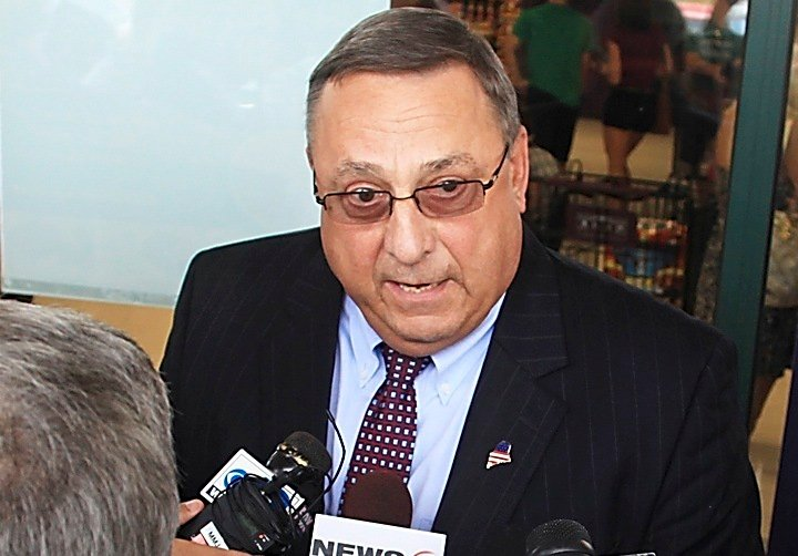 """Gov. LePage's comparison of the IRS to the Gestapo led a reader who lost family to the secret Nazi police force to ask, """"How many people have been killed by the IRS?"""""""