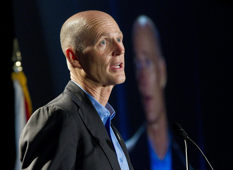 Gov. Rick Scott says access to the SAVE database will keep Florida voting honest.
