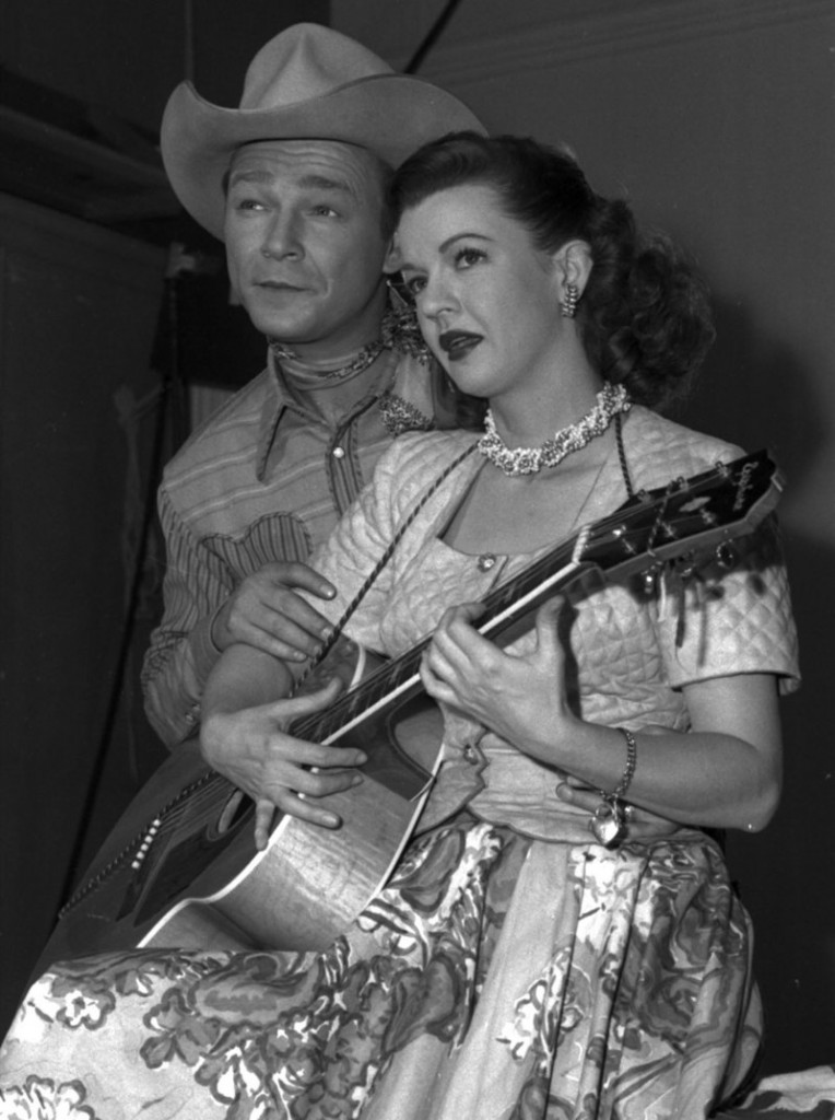 Roy Rogers, shown with Dale Evans