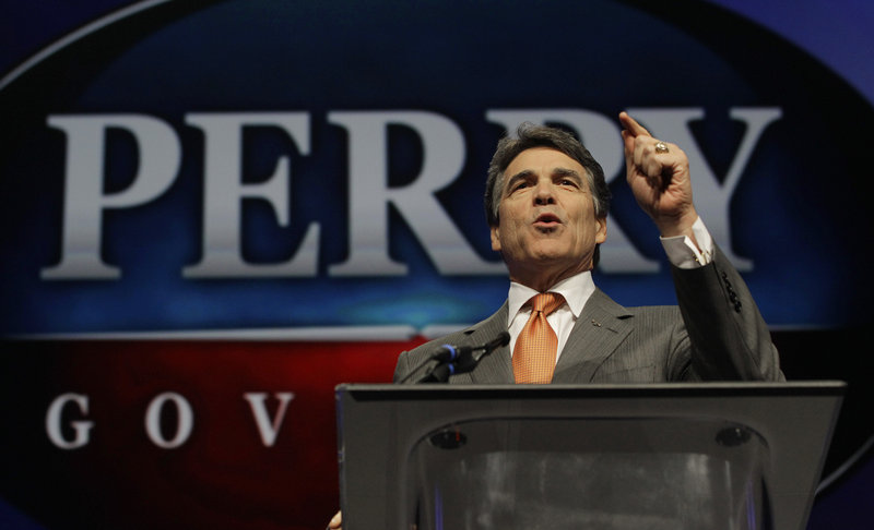 """Texas Gov. Rick Perry faces the possibility that saying """"no"""" to the new health care law would mean turning away about 1.3 million Texans who could be eligible for coverage."""