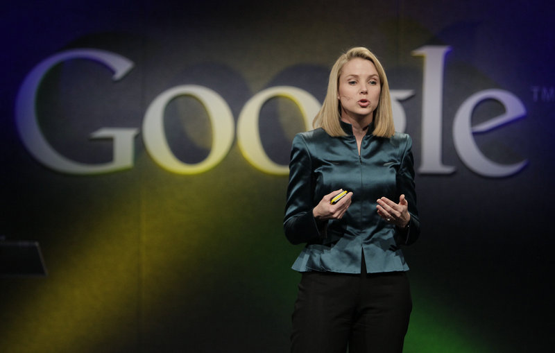 Marissa Mayer, the newly named CEO of Yahoo, tweeted that she was expecting, setting off a discussion of the effect of such news on other businesswomen, businesses and Mayer herself.