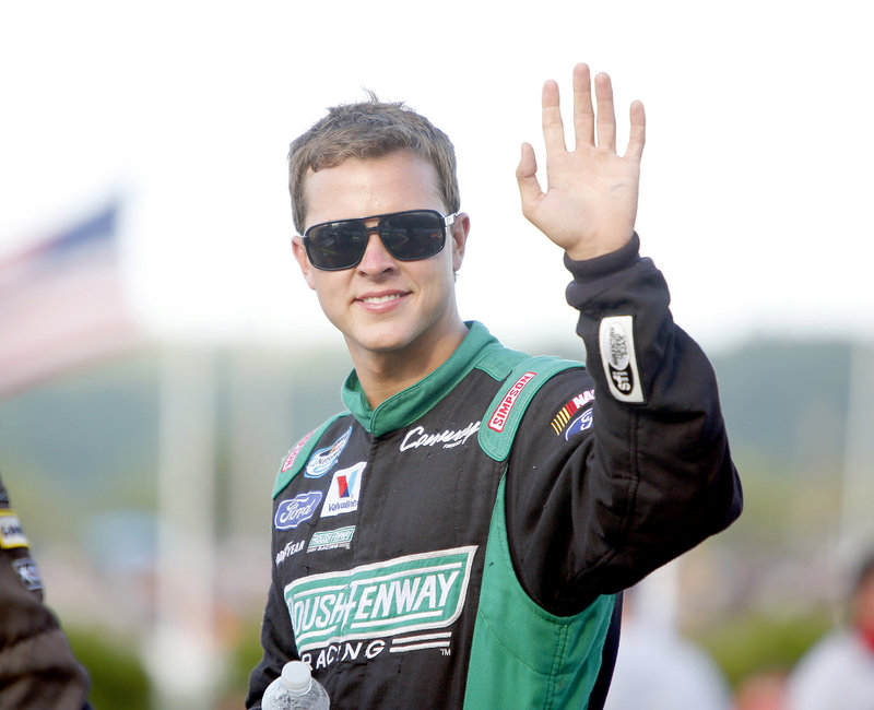 Trevor Bayne, who won the Daytona 500 in 2011, finished four laps behind the winner, in 32nd place.