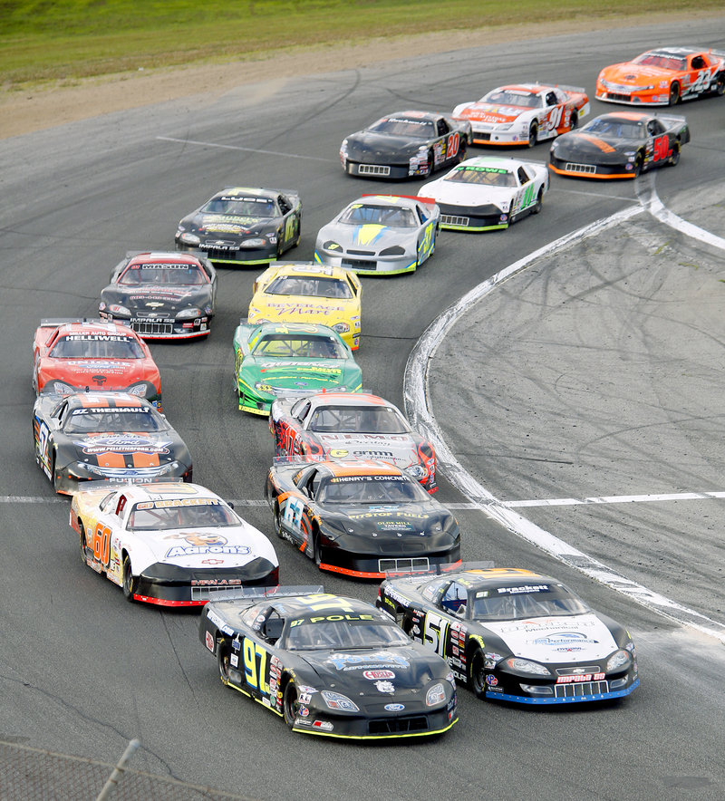 Car to car, driver to driver … the six heats were over and the TD Bank 250 was off and running Sunday night at Oxford Plains Speedway.