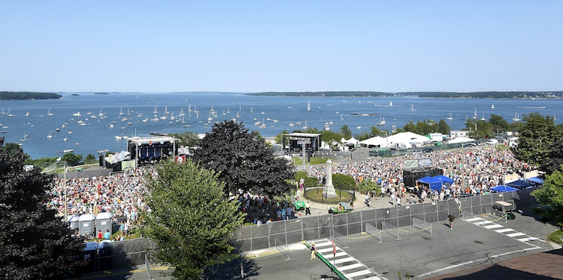 City officials will debrief Thursday on Saturday's Mumford & Sons concert on the Eastern Prom, which drew 16,000 people.