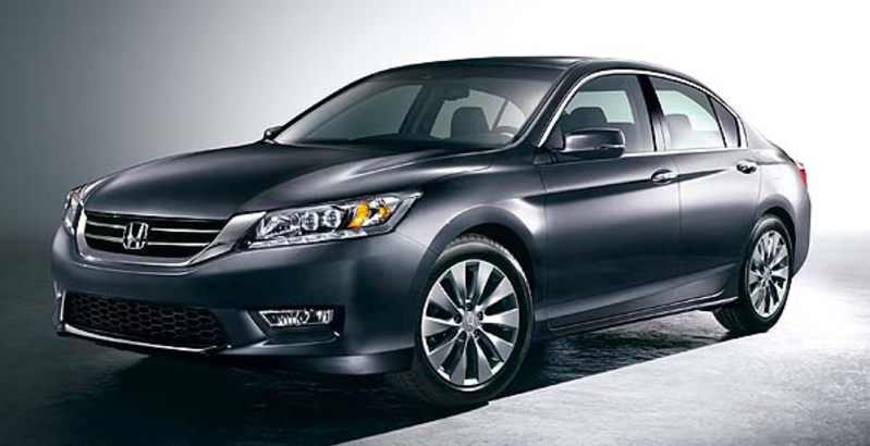 The 2013 Honda Accord hits showrooms in a couple weeks, with a fresh athletic look and better fuel economy.