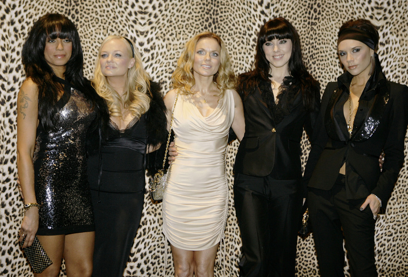 The Spice Girls, from left, Melanie Brown, Emma Bunton, Geri Halliwell Melanie Chishlom and Victoria Beckham, will perform as part of the Olympics closing celebration.