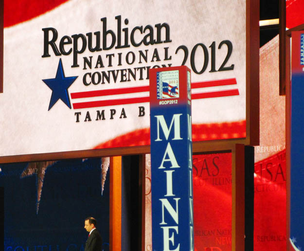 With some Ron Paul supporters from Maine vowing to boycott the remainder of the convention, Maine's allotted seats on the convention floor will be filled with delegates, alternates and guests supporting Romney.