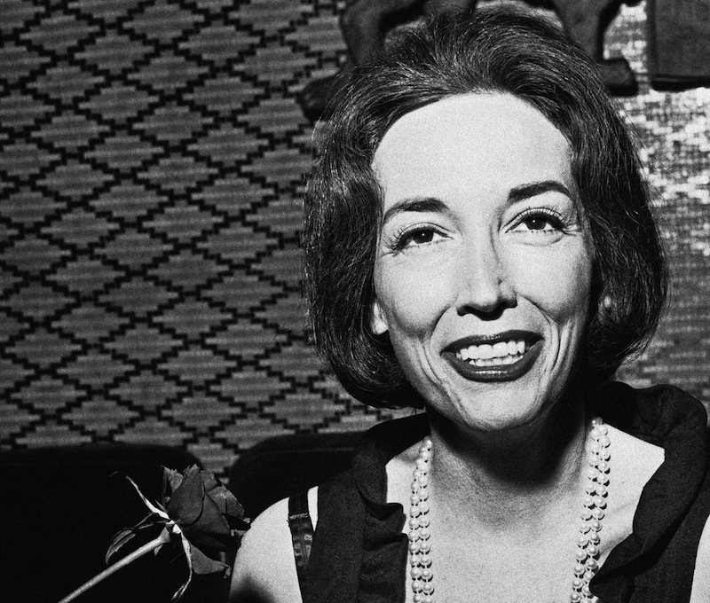 This Nov. 2, 1964 file photo shows author Helen Gurley Brown. Brown, longtime editor of Cosmopolitan magazine, died Monday, Aug. 13, 2012 at a hospital in New York after a brief hospitalization. She was 90. (AP Photo, file) Close;-Up;Confidence;Happiness;Holding;Looking;At;Camera;Rose;Smiling;Writer