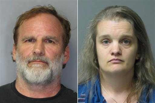 Georgetown pediatrician Melvin Morse, 48, left, and his wife, Pauline Morse, 40. The couple have been charged with recklessly endangering their two daughters. They were arrested on Thursday.