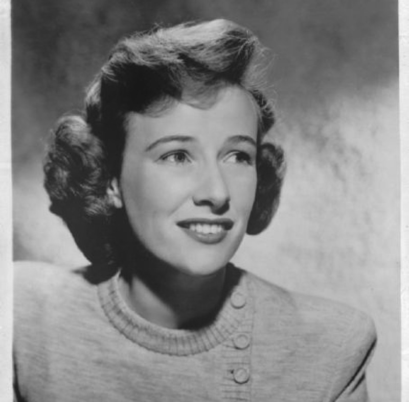 This 1955 publicity shot shows actress and Maine native Phyllis Thaxter. Thaxter has died at age 92.